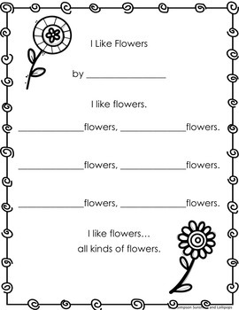 Poetry Frames for Spring Grades 1-2 Editable frames Included