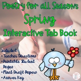 Spring Poetry Writing Unit Tab Book