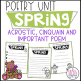 Spring Poetry (Print and Go)