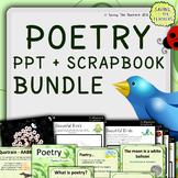 Spring Poetry Scrapbook and PowerPoint Bundle