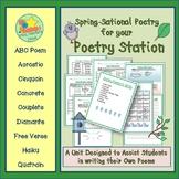 Poetry Writing - Spring Acrostic, Cinquain, Couplets, Diam