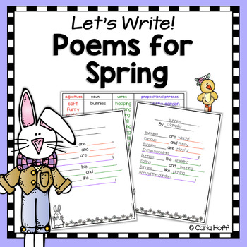 Spring & Easter Poetry Writing Activities