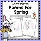 Spring and Easter Poetry Writing