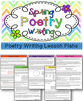 Spring Poetry Writing Unit
