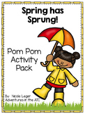 Spring Pom Pom Activity Pack