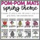 Spring Pom-Pom Mats (Fine Motor)
