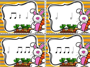 Spring Post Office - A Bundle of 4 Games to Practice Rhythm