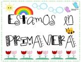 Spring Poster in Spanish