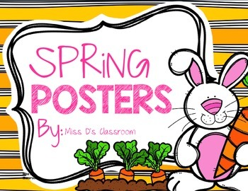 Spring Posters!