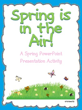 Spring PowerPoint Activity