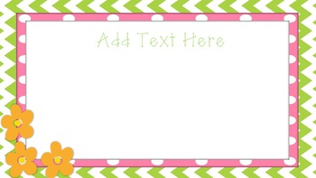 Spring PowerPoint Template Slides