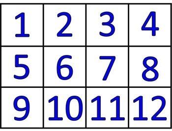 Spring Math Sorts - Subitizing and Math Facts