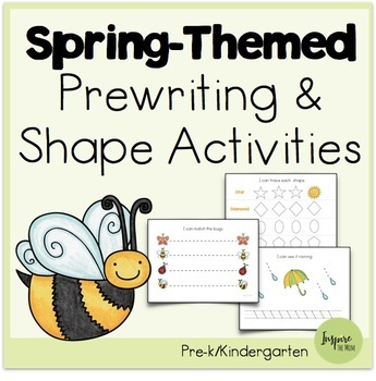 Spring Pre-Writing Activities