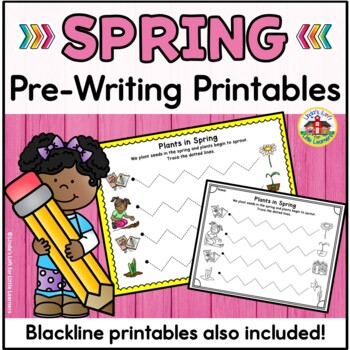 Spring Pre-Writing Printables
