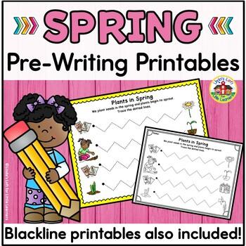 Spring Pre-Writing Printables