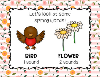 Spring Pre-reading Rhythms - ta, ti-ti, rest (Kodaly Prepare-Present-Practice)