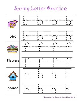 Spring PreK Sampler Printable Pack