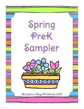 Spring PreK Sampler Printable Pack