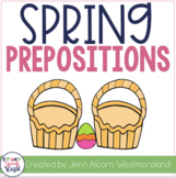 Spring Preposition Activities