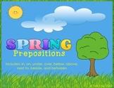 Spring Prepositions
