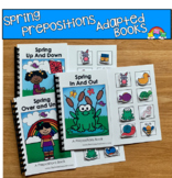Spring Prepositions Adapted Books