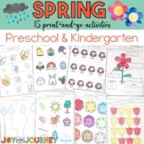 Spring Activities (Preschool and Kindergarten)