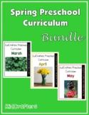 Spring Preschool Curriculum Bundle