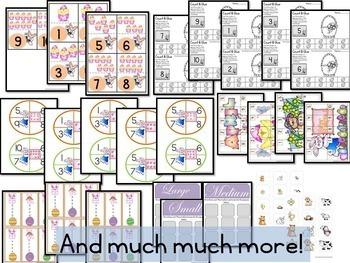 Spring Preschool Kindergarten Basic Skills Activity Pack