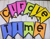 Spring Preschool Literacy Packet