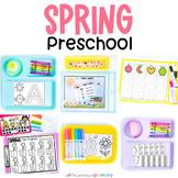 Spring Preschool Math & Literacy Centers   April Morning Work