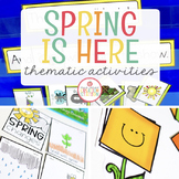SPRING THEME ACTIVITIES FOR PRESCHOOL, PRE-K AND KINDERGARTEN