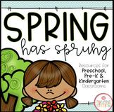 Spring: Preschool, Pre-K and Kindergarten Resources