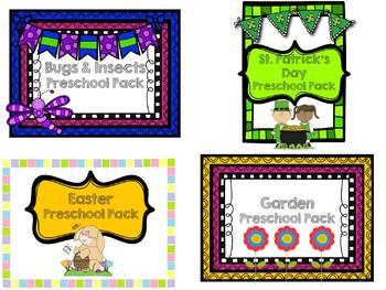 Spring Preschool Pack Bundle