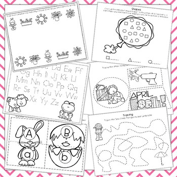 Spring Preschool and Toddler Curriculum Bundle