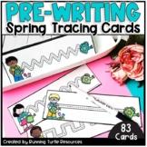 Spring Prewriting & Tracing Strips | Preschool & Kindergarten
