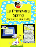 Spring / Primavera- Narrative Writing Craftivity - Spanish