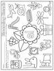 Spring Print & Practice (literacy & math printables for kinder)
