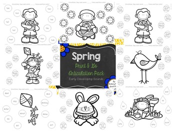 Spring Print and Go Articulation Pack Bundle