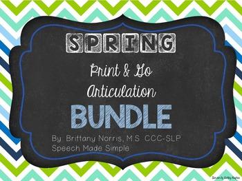 Spring Print and Go Articulation Pack Bundle