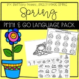 Spring Print and Go Language Pack