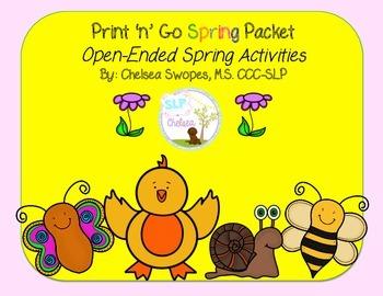 Spring Print 'n' Go Packet
