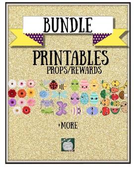 Spring Printable Bundle with Bonus Props