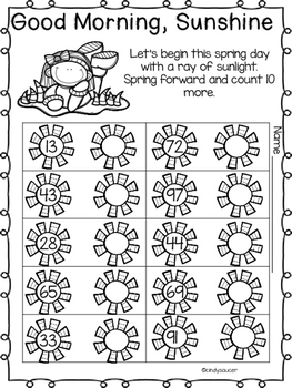 Spring Printables, Math, Phonics, Comprehension, Writing, and Vocabulary