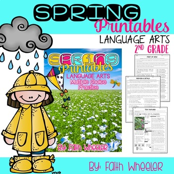 Spring Printables for Language Arts