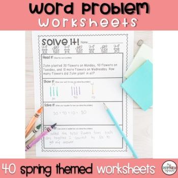 Spring Problem Solving Packet