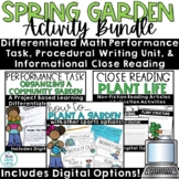 Spring Activities with Digital   Plant Life Cycle   Gardening