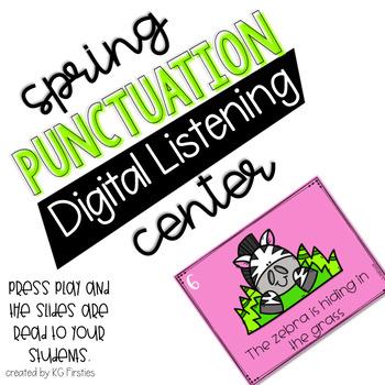 Spring Punctuation Digital Listening Center