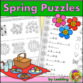 Spring Puzzle Activities – Crossword, Word Search and More
