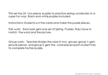 Spring Puzzles