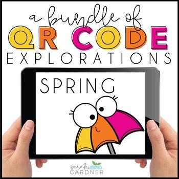Spring QR Code Exploration BUNDLE